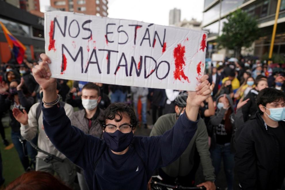 En Colombia: ¡Nos están matando!