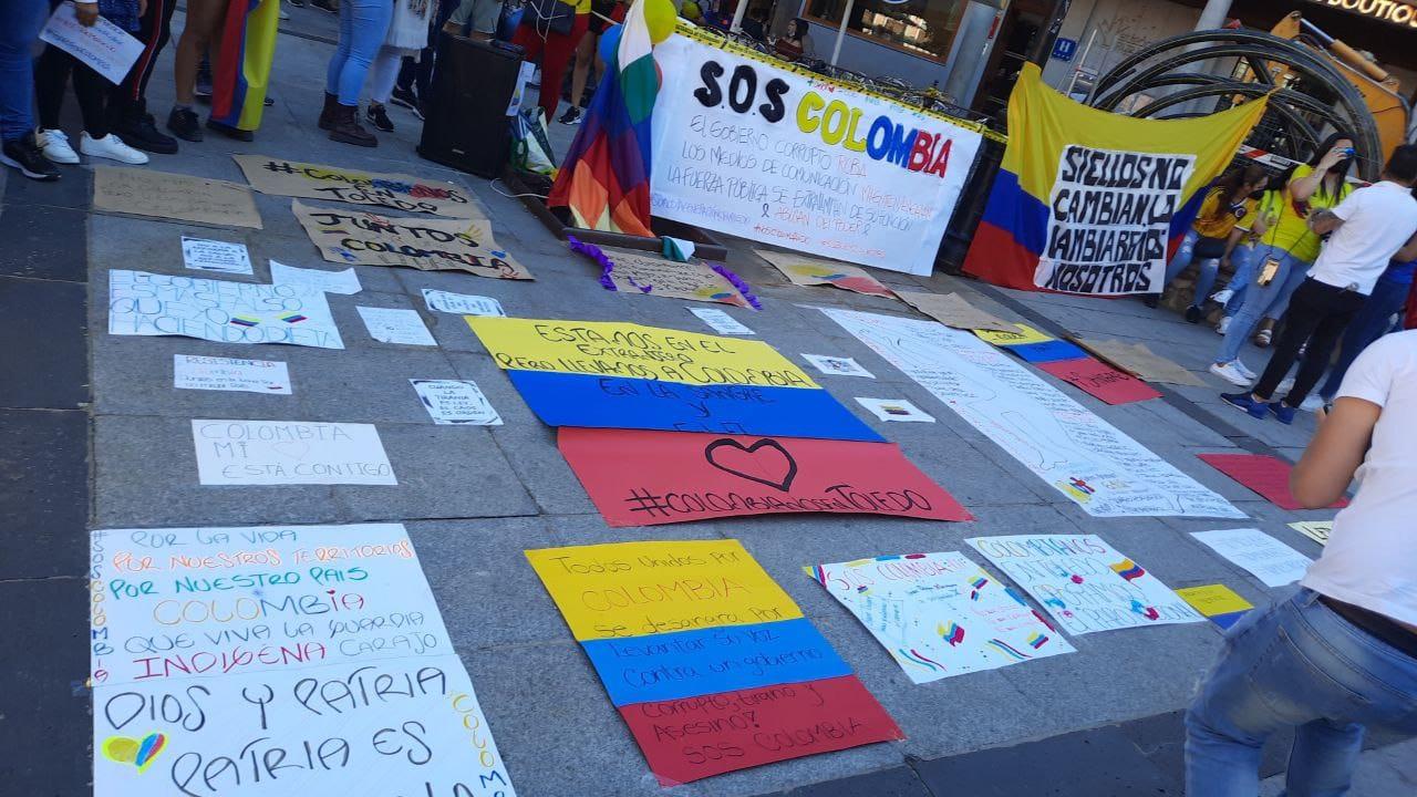 Ni un muerto más por el Estado colombiano